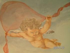 plafond schildering engelen