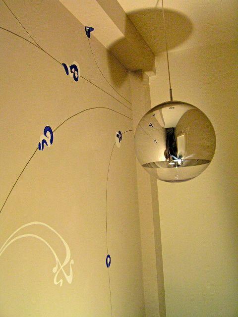 Art deco / Jugendstil in trappenhuis