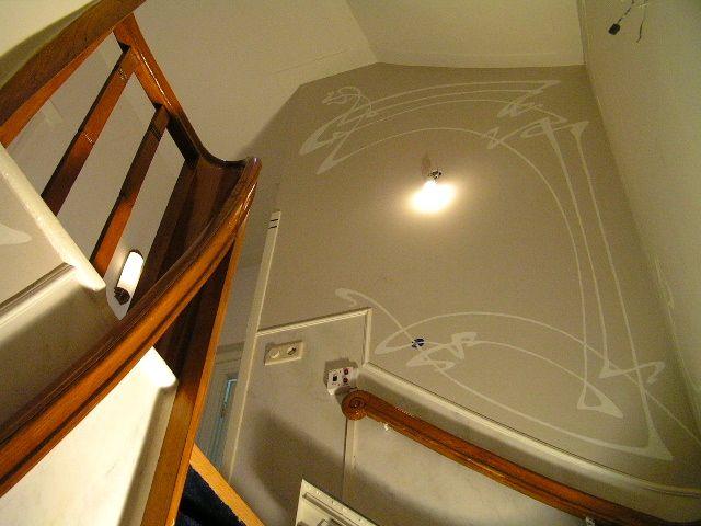 Art deco jugendstil in trappenhuis het geheim van de smith - Decoratie van trappenhuis ...