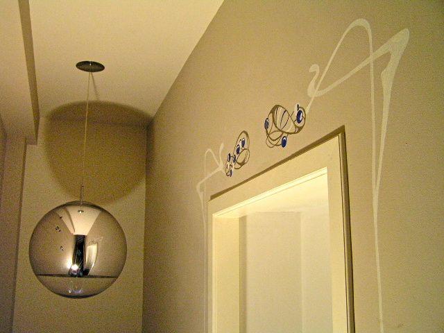 Art deco jugendstil in trappenhuis het geheim van de smith - Behang voor trappenhuis ...