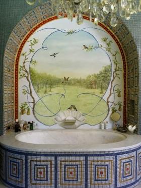 De Heerlijckheit Dykenburch badkamer