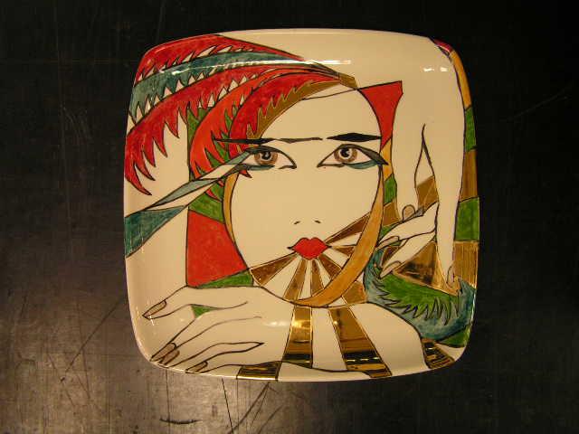 Art deco borden