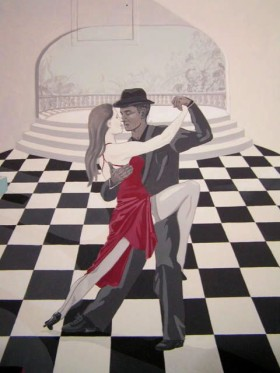 latex muurschildering