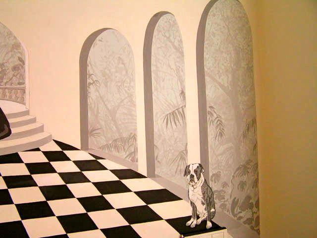 Latex muurschildering Amsterdam
