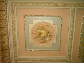 Restauratie 4 plafonds uit 1880.