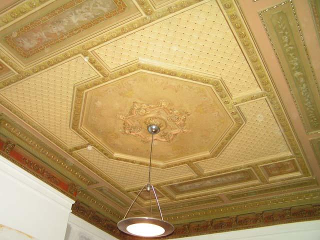 Restauratie plafonds uit 1880 te Vlaardingen