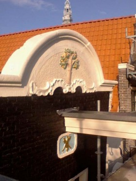 Oudezijds voorburgwal te Amsterdam