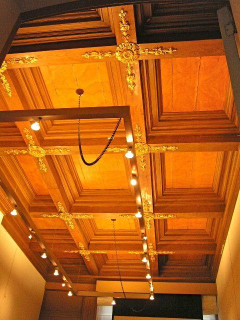 Restauratie van 16e eeuw`s plafond