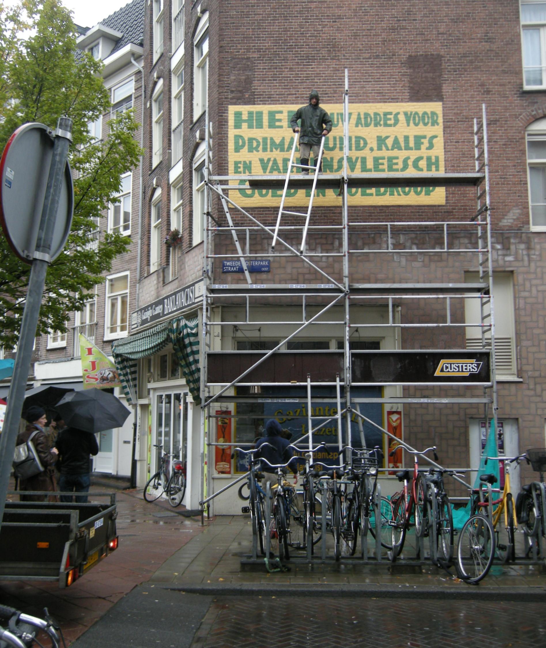 Gevelreclame restauraties – Beukenplein Slagerij